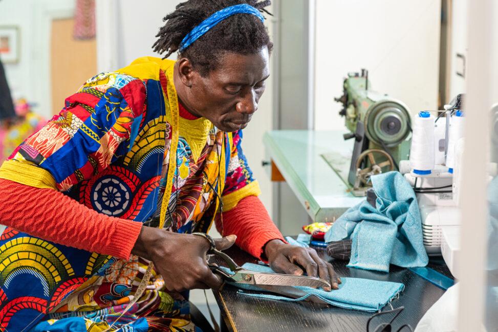 Schneider aus dem Senegal