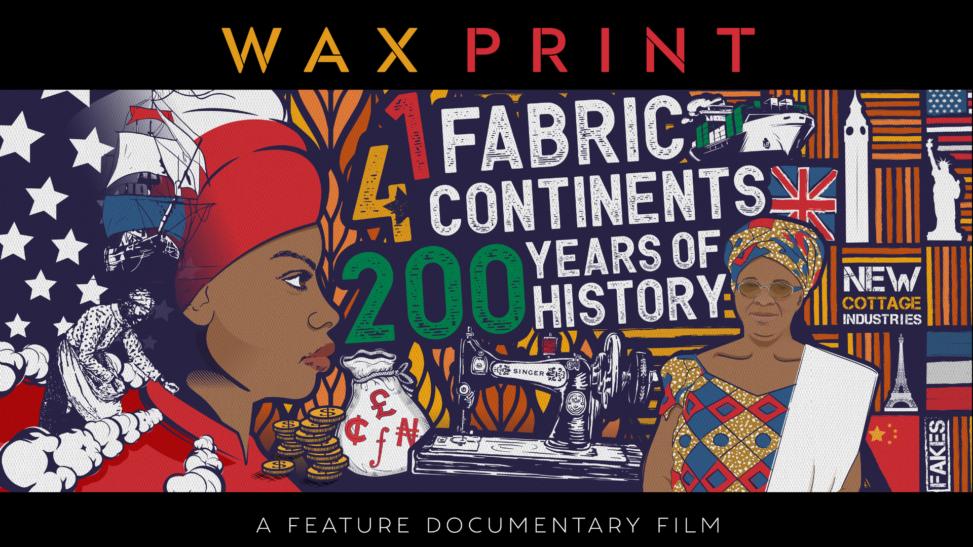 Wax Print Film