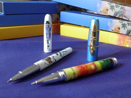 Kugelschreiber von Monts Nimba